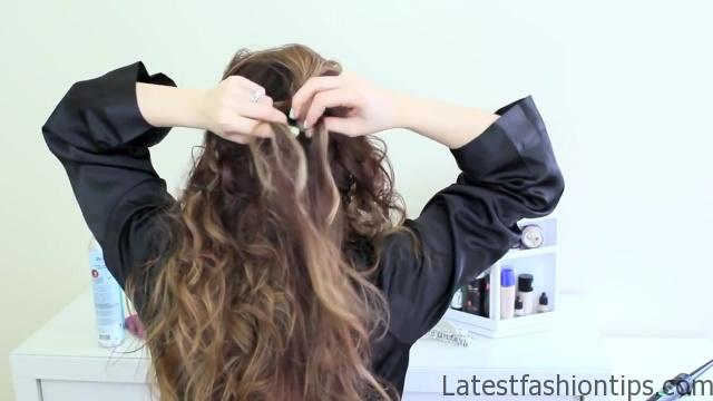 Easy Updo Inspired by Jennifer Lawrence's Golden Globes Style_HD720 4