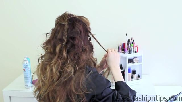 Easy Updo Inspired by Jennifer Lawrence's Golden Globes Style_HD720 5