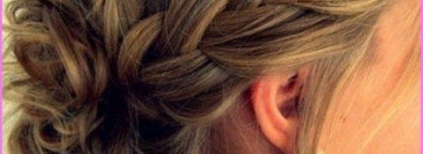 Accent Braid into Messy Bun Hairstyles_1.jpg