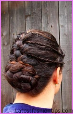Accent Braid into Messy Bun Hairstyles_11.jpg