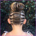 Accent Braid into Messy Bun Hairstyles_17.jpg