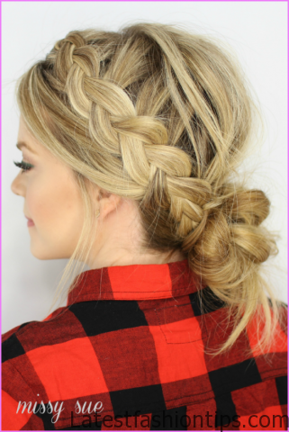 Accent Braid into Messy Bun Hairstyles_18.jpg