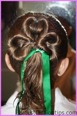 Accent Braid into Messy Bun Hairstyles_5.jpg