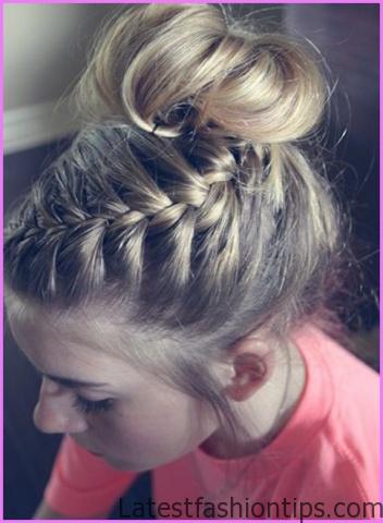 Accent Braid into Messy Bun Hairstyles_7.jpg
