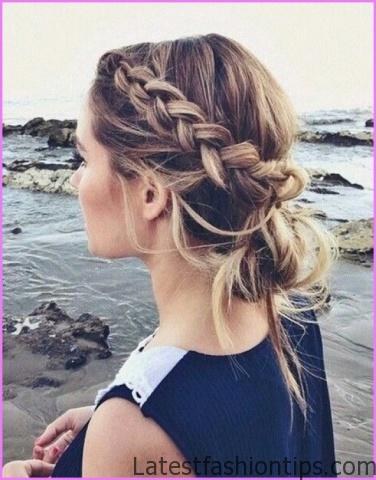 Accent Braid into Messy Bun Hairstyles_8.jpg