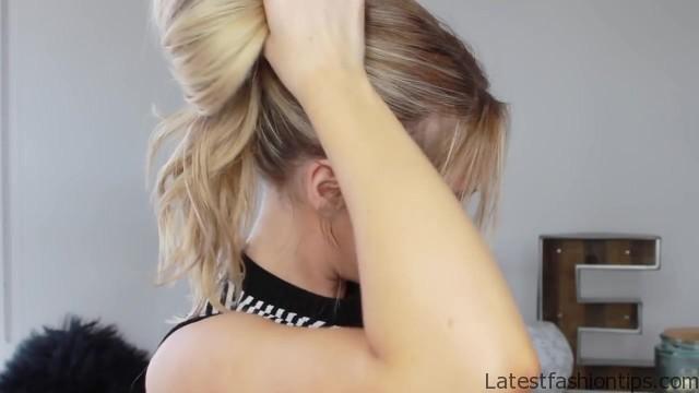 3 cute easy messy buns luxy hair 16