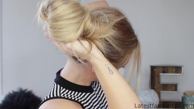3 cute easy messy buns luxy hair 17