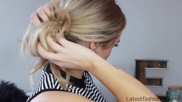3 cute easy messy buns luxy hair 21
