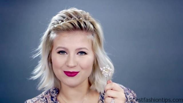 5 waterfall hairstyle tutorials 26