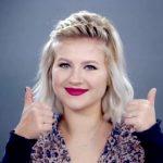 5 waterfall hairstyle tutorials 30