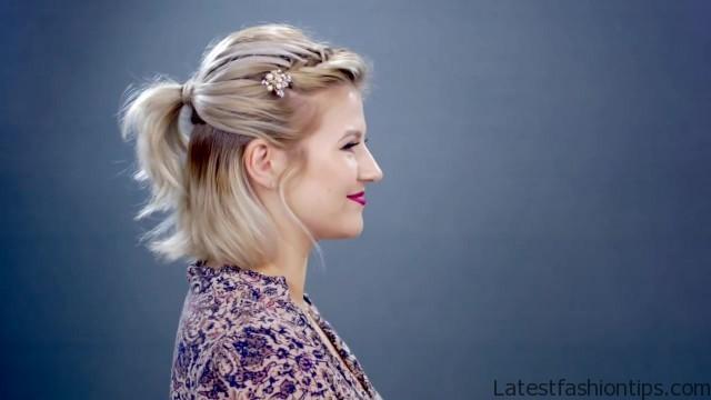 5 waterfall hairstyle tutorials 55