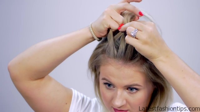 braided heatless back to school short hairstyles 11 Braided Heatless Back to Scholl Short Hairstyles
