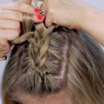 braided heatless back to school short hairstyles 13
