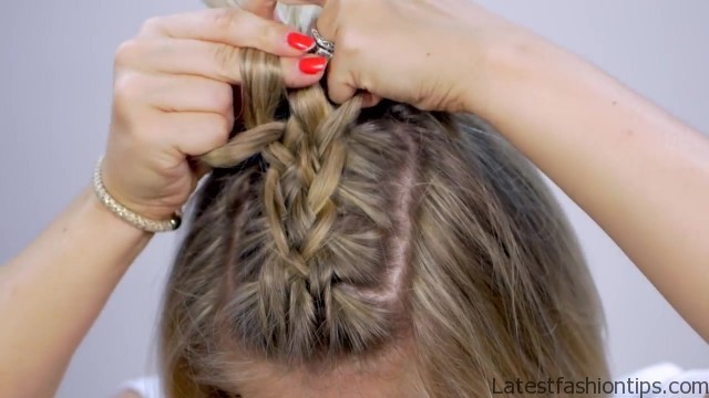braided heatless back to school short hairstyles 13 Braided Heatless Back to Scholl Short Hairstyles