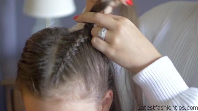 braiding hairstyles with thin fine hair 16