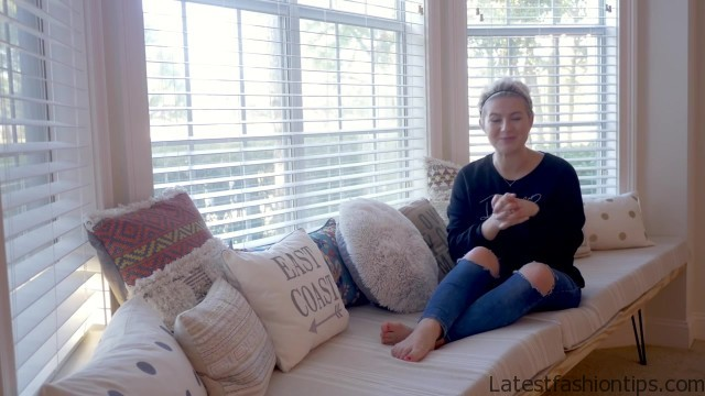 diy how to bay window seat house update 04