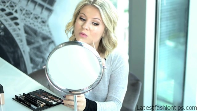 easy everyday fall makeup tutorial lorac pro palette 19