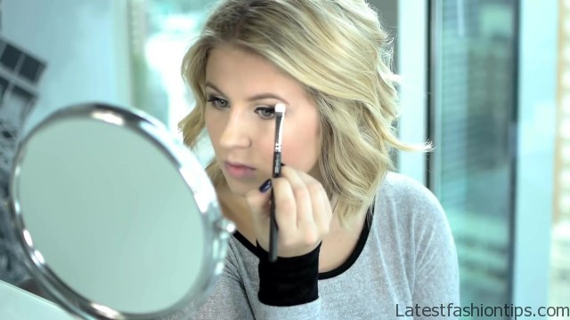 easy everyday fall makeup tutorial lorac pro palette 21