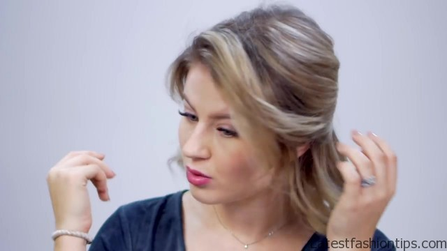 FIVE 1 MINUTE SUPER EASY HAIRSTYLES - LatestFashionTips.com ®