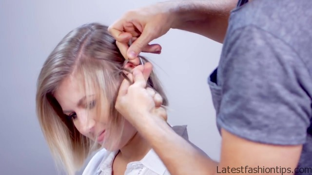 hairstyle of the day edgy short hairstyle with braids 14