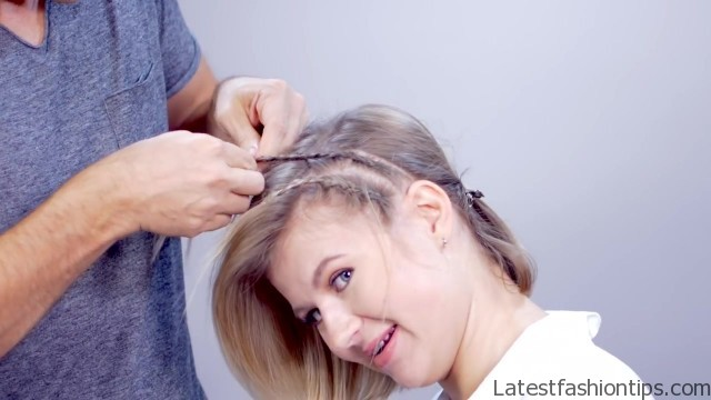 hairstyle of the day edgy short hairstyle with braids 21
