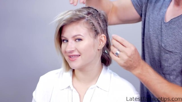 hairstyle of the day edgy short hairstyle with braids 25