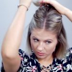 hairstyle of the day how to style short hair in less than 5 minutes 07