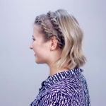 hairstyle of the day super easy rope braid twists short hairstyle 19