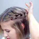 hairstyle of the day topsy tail crown hairstyle for short hair 09