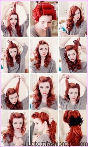 How To - Vintage Rolled Hair Tutorial _6.jpg