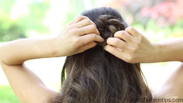 cute and easy hairstyles 08 Cute and Easy Hairstyles