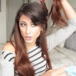 cute summer half up half down hairstyle 28