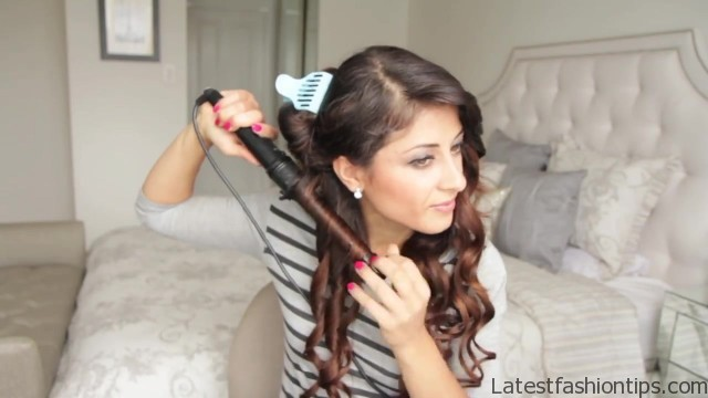 cute summer half up half down hairstyle 38