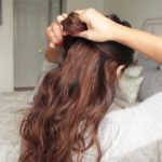 cute summer half up half down hairstyle 53