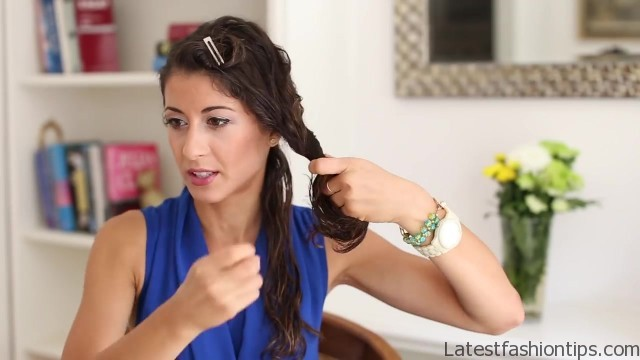 how to blowdry your hair straight stepbystep 28
