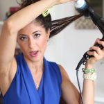 how to blowdry your hair straight stepbystep 33