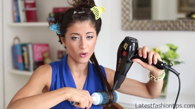Step By Step How To Blowdry Natural Hair