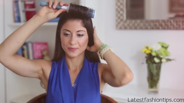 how to blowdry your hair straight stepbystep 53