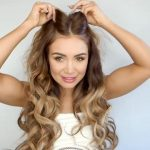 how to clip in and blend hair extensions with short hair luxy hair 46