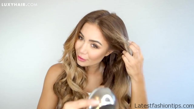how to clip in and blend hair extensions with short hair luxy hair 48