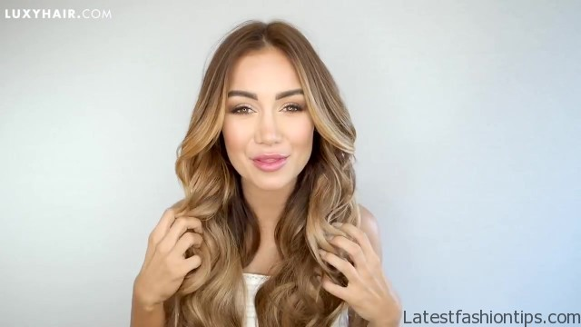 how to clip in and blend hair extensions with short hair luxy hair 52