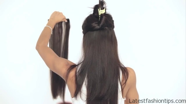 how to clip in luxy hair extensions 15