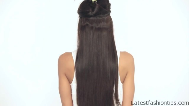 how to clip in luxy hair extensions 18 How to Clip In Hair Extensions