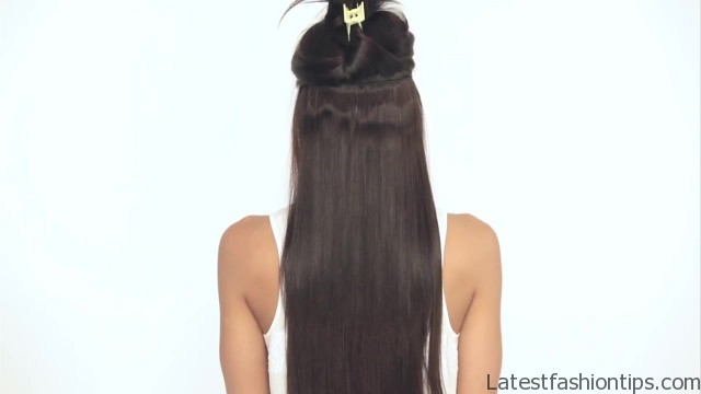 how to clip in luxy hair extensions 19 How to Clip In Hair Extensions