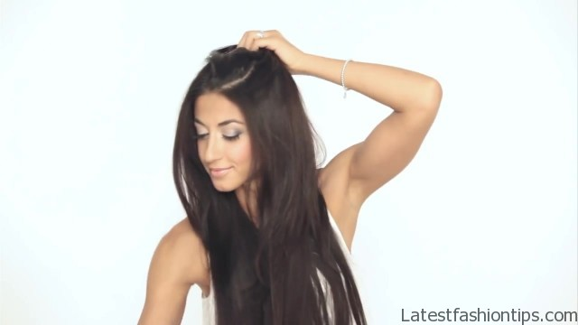 how to clip in luxy hair extensions 26 How to Clip In Hair Extensions