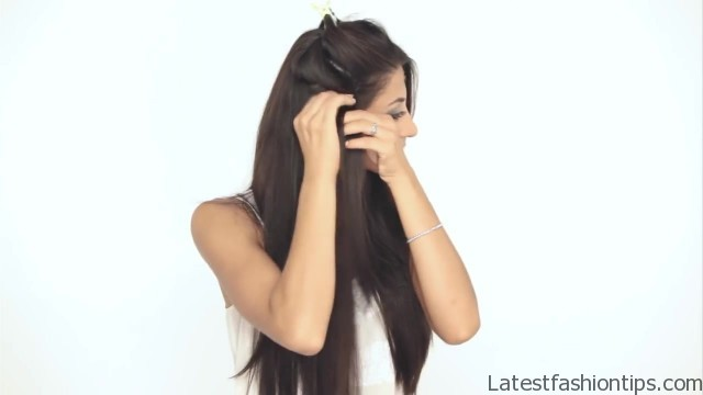 how to clip in luxy hair extensions 32 How to Clip In Hair Extensions