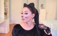 kitty cat halloween hair 06