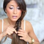 loop side ponytail cute hairstyle 25