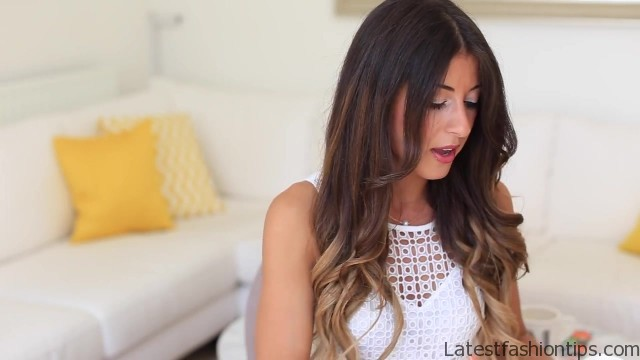loose waves hair tutorial 28