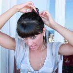 messy updo hair tutorial 22